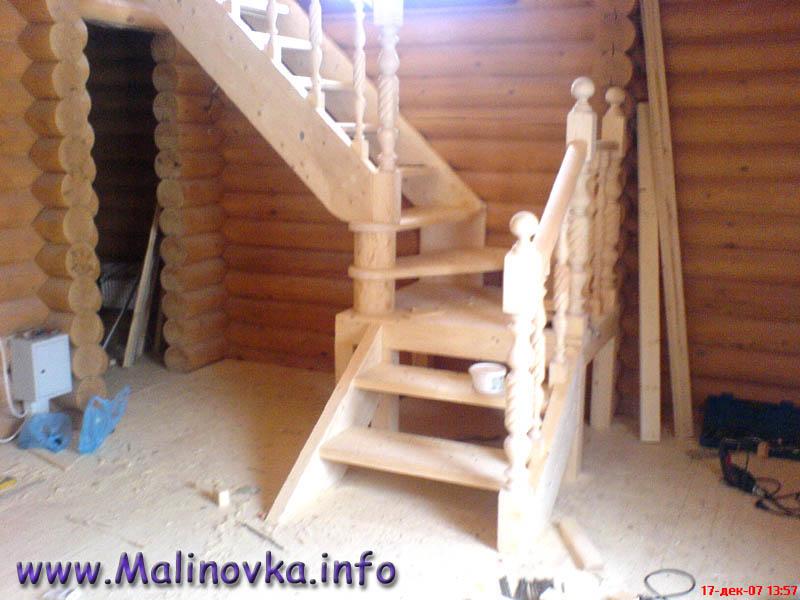 Как сделать деревянную лестницу в своем доме своими руками